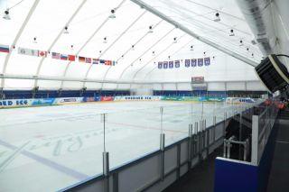 Строительство ледового дворца