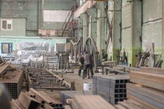 Цех производства металлоконструкций