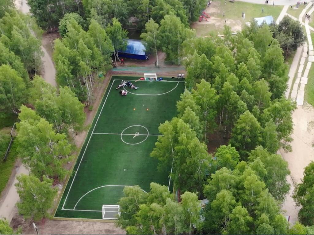 Футбольное поле в Нижегородской области