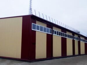 Строительство быстровозводимого здания