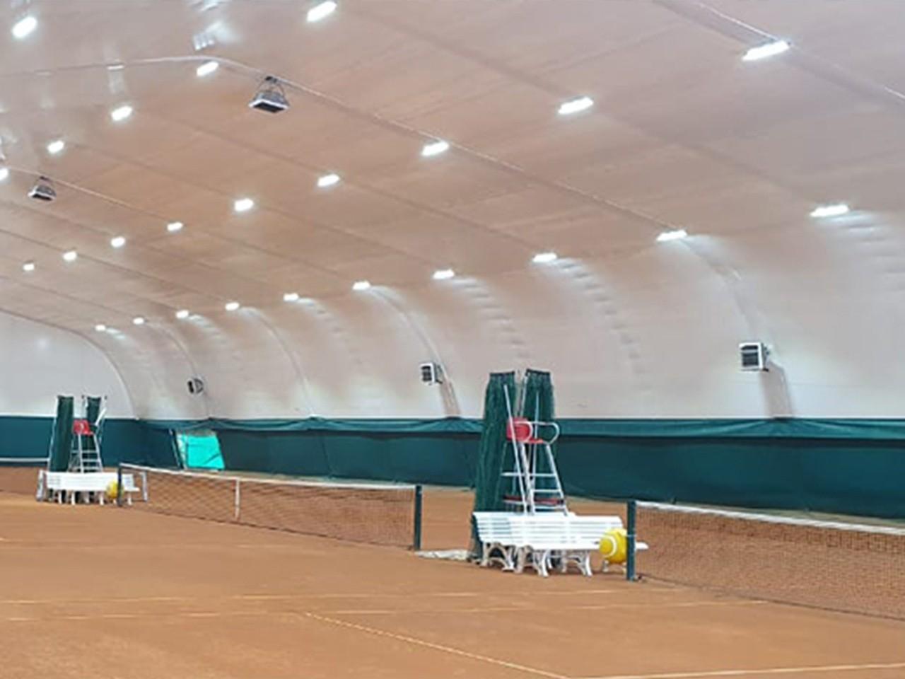 Строительство теннисного манежа