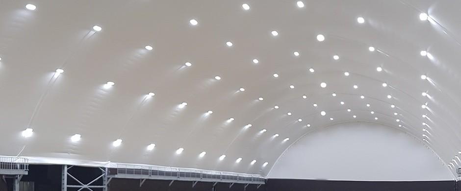 Проектирование, поставка и монтаж систем освещения