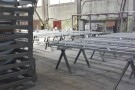 Изготовление металлоконструкций для футбольного манежа в Самаре завершается