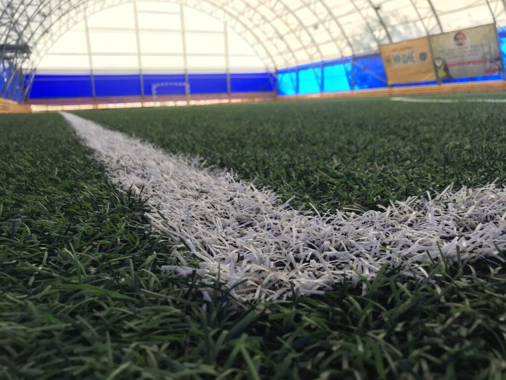 Крытый футбольный манеж 23х41 г.Новокуйбышевск