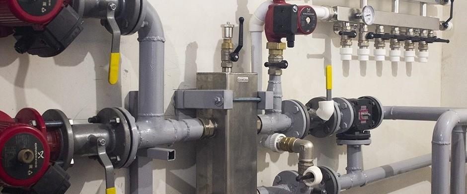 Проектирование и монтаж систем отопления для ангаров