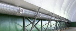 Проектирование систем вентиляций и монтаж
